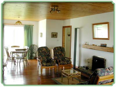 living room in connemara