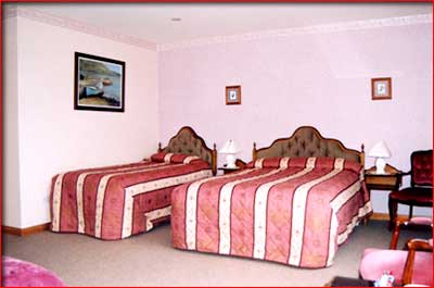 one of hazel grove's bedrooms - county mayo, ireland