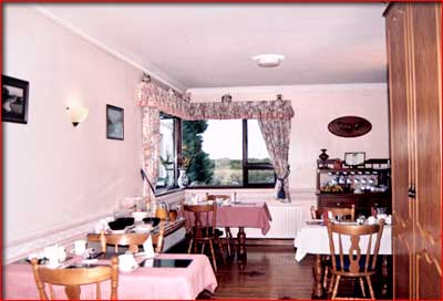 dining room - hazel grove B&B, county mayo