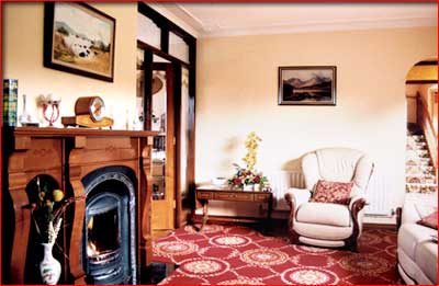 hazel grove B&B - sitting room