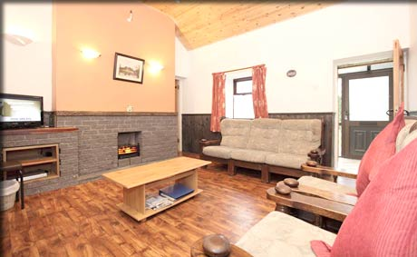 Living room in rental accommodation County Roscommon.