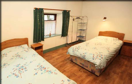 Bedroom in County Roscommon rental accommodation Loughglynn.